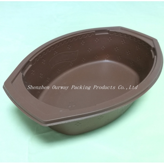 Oval Food Packaging Box